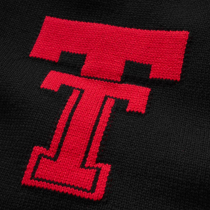 Texas Tech Vintage Letter Sweater