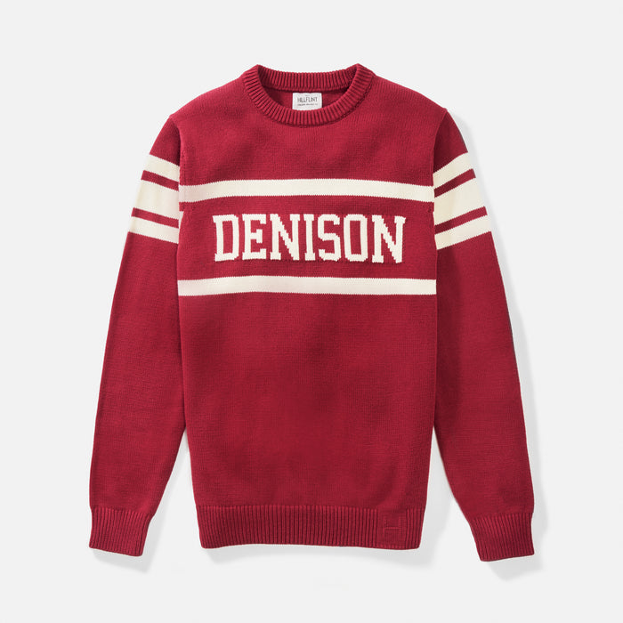 Denison Retro Stadium Sweater