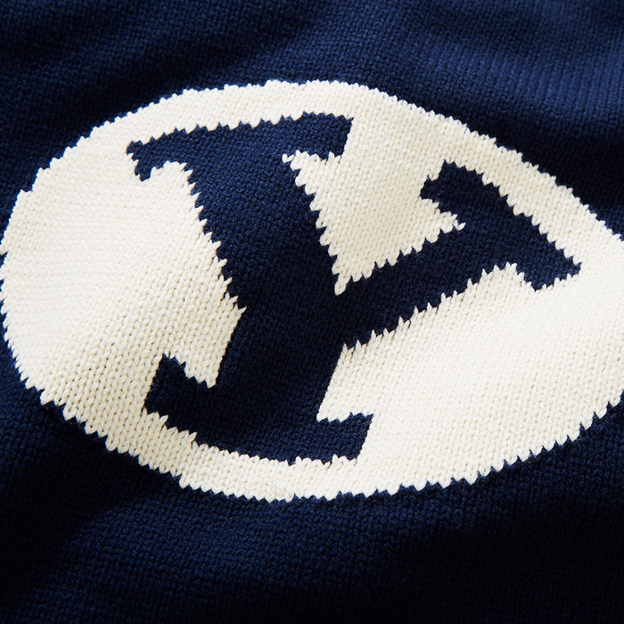 BYU Letter Sweater