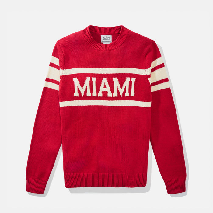 Miami (OH) Retro Stadium Sweater