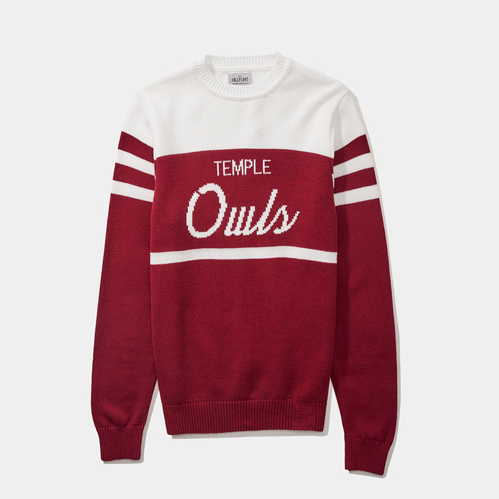 Temple Tailgating Sweater