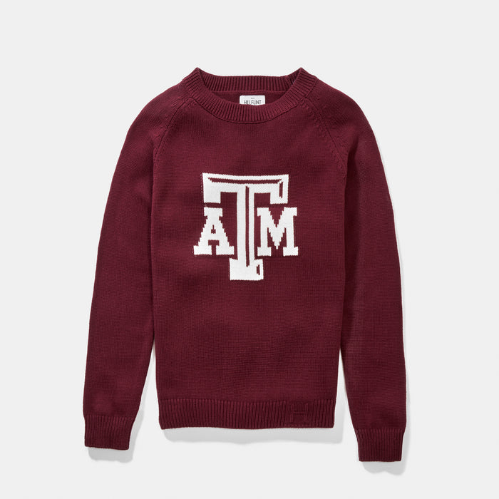 Texas A&M Letter Sweater (Aggie Maroon)