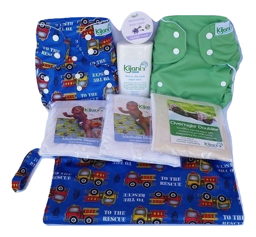 Washable Diaper Starter set