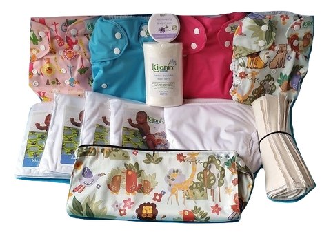 Washable Diapers Deluxe Starter Set