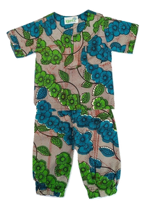 Kitenge baby outfit