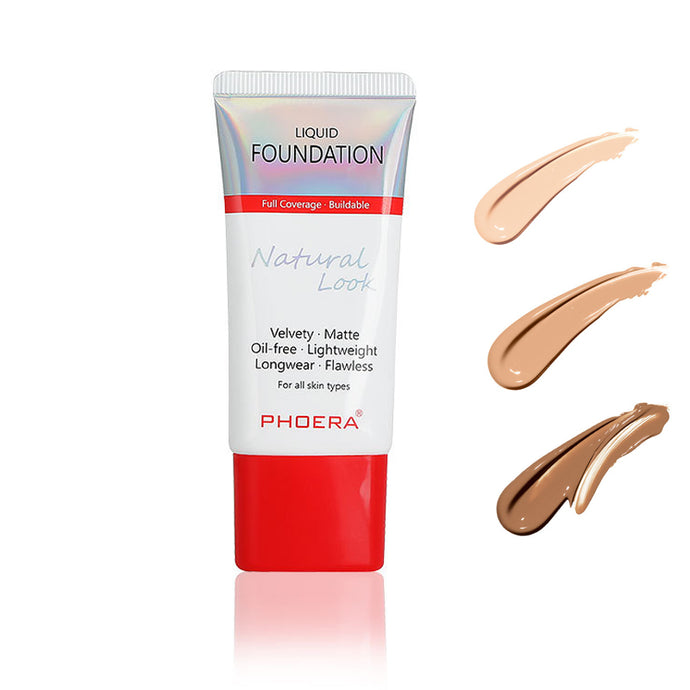 Try our new Phoera Natural Look Longwear Foundation!