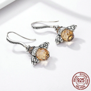 Dancing BeeEarrings (925 Sterling Silver) - Offical Phoera Store