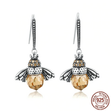 Load image into Gallery viewer, Dancing BeeEarrings (925 Sterling Silver) - Offical Phoera Store