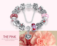 Load image into Gallery viewer, Silver Charms Bracelet - Offical Phoera Store