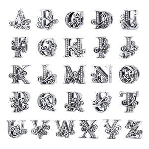 A to Z Alphabet Charms (925 Sterling Silver) - Offical Phoera Store