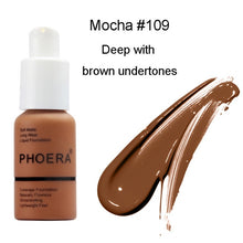 Load image into Gallery viewer, PHOERA Foundation - Soft Matte Long Wear Liquid Foundation - Offical Phoera Store