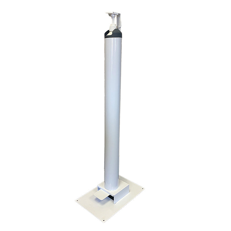 Powder coated Mild steel Foot Sanitiser Dispenser