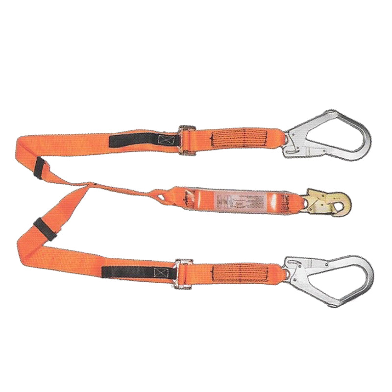 Double Webbing Lanyard Scaffold Hooks Adjustable