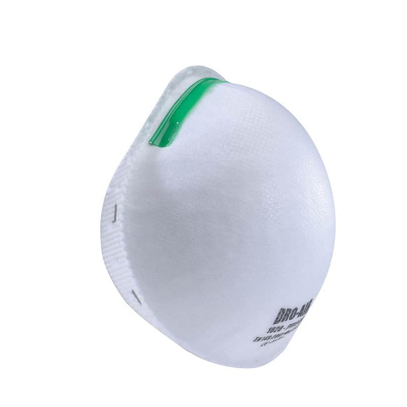 DroAir Disposable Moulded Mask White