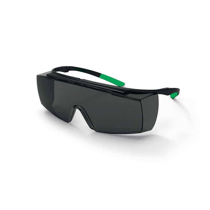 Uvex Super f OTG Black/Green Welding Shade 5