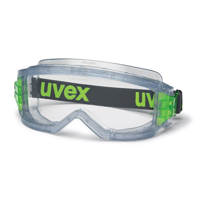 Uvex Ultravision Transparent Grey  CA Clear wide nose piece