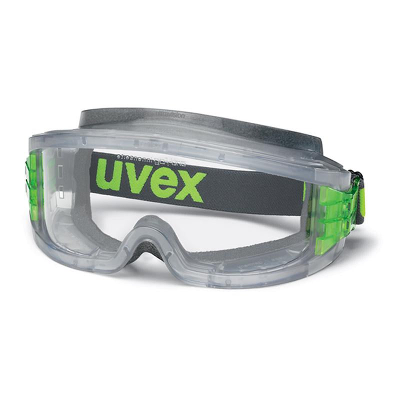 Uvex Ultravision Transparent Grey CA Clear with foam Cushioning