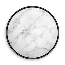 Load image into Gallery viewer, White Marble with Gold Pieces