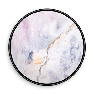 Marble Light Cold Grey with Beige Line
