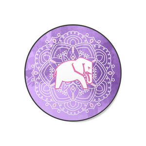 PURPLE ELEPHANT MANDALA