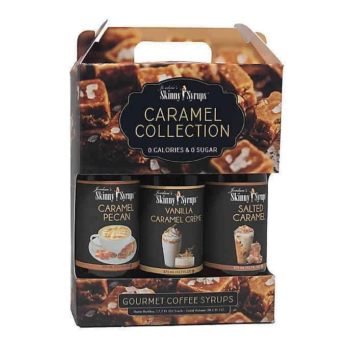 Jordan's Skinny Syrup Trio Caramel Collection 375ml