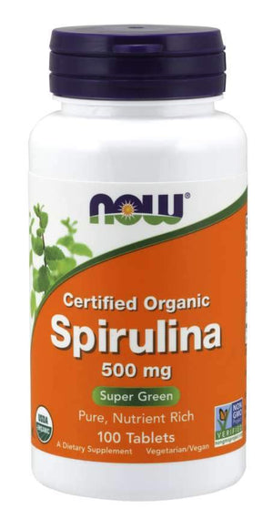 NOW Foods Spirulina 500mg