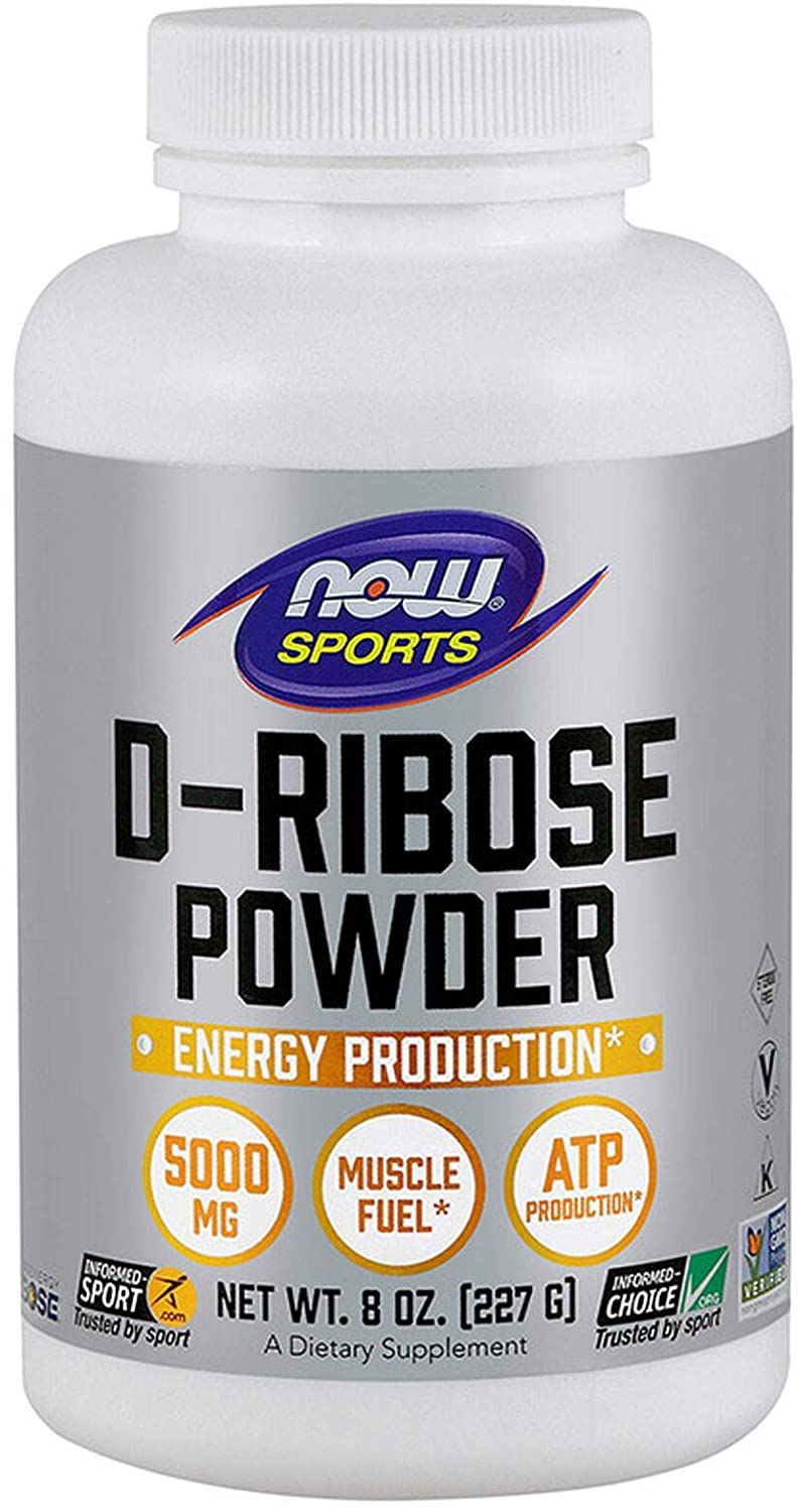 Now Sports D-Ribose Powder 227g