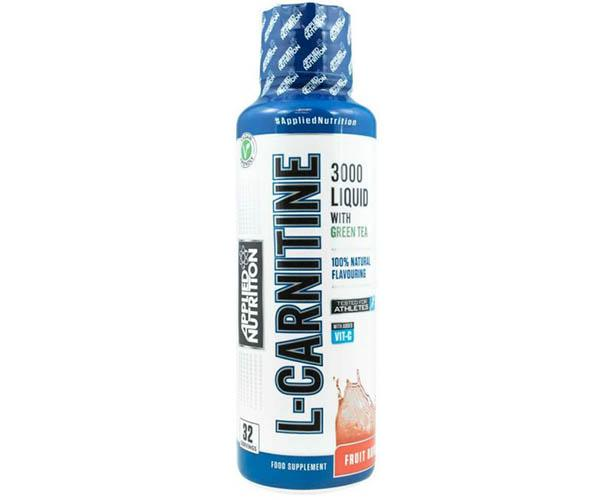 Applied Nutrition 3000mg Liquid L-Carnitine 480ml
