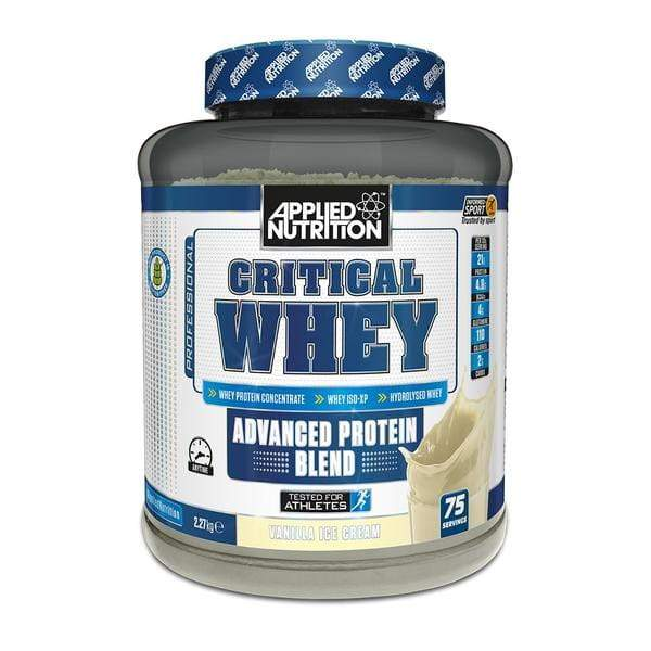 Applied Nutrition Critical Whey 2.27kg + Bundle