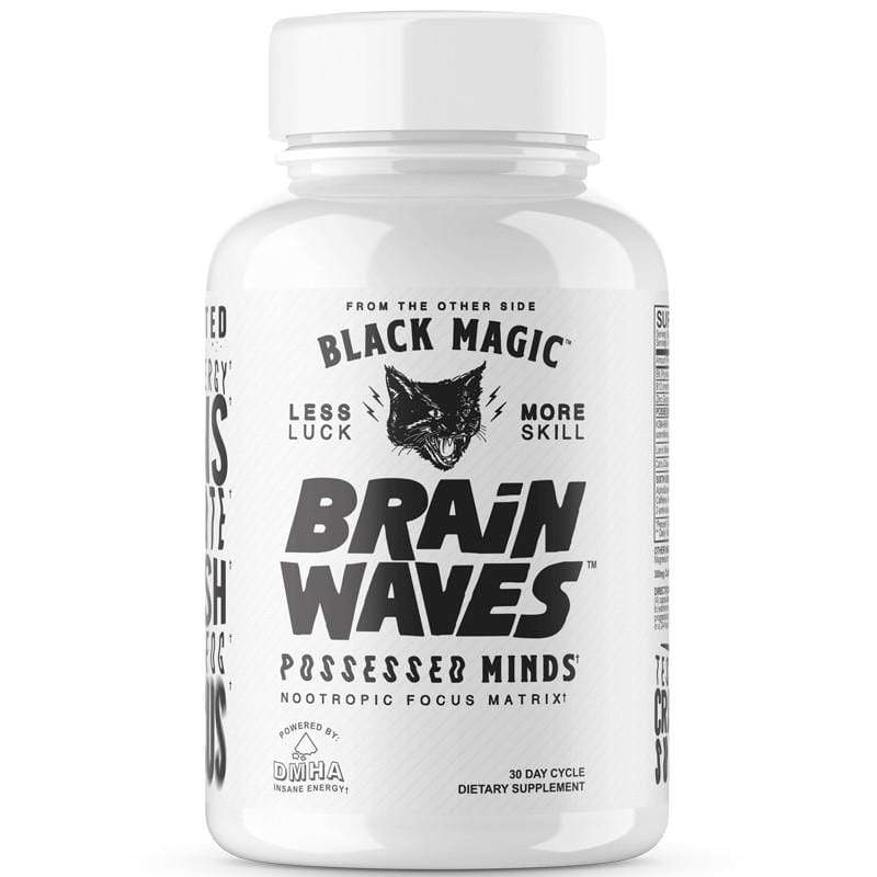 Black Magic Brain Waves 120 Caps