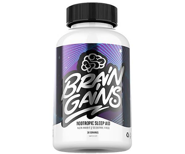 Brain Gains Switch Off Sleep Aid 40 Servings
