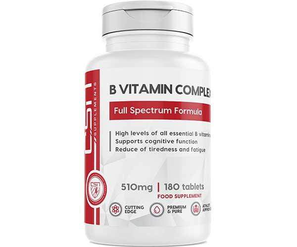 CSN Supplements B Vitamin Complex 180 caps