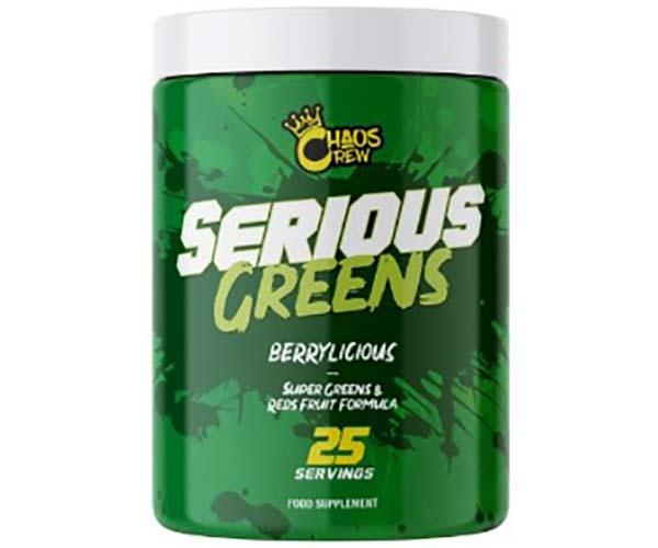 Chaos Crew Serious Greens 292g