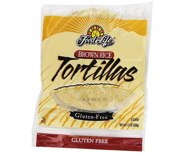 Food For Life Brown Rice Tortillas 340g