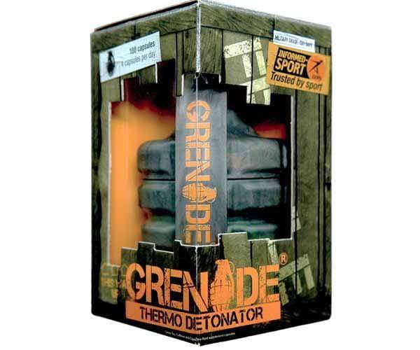 Grenade Thermo Detonator 100 caps - Informed Sport Approved