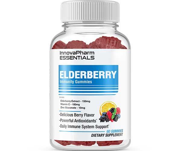 InnovaPharm Elderberry Gummies 60 Pieces