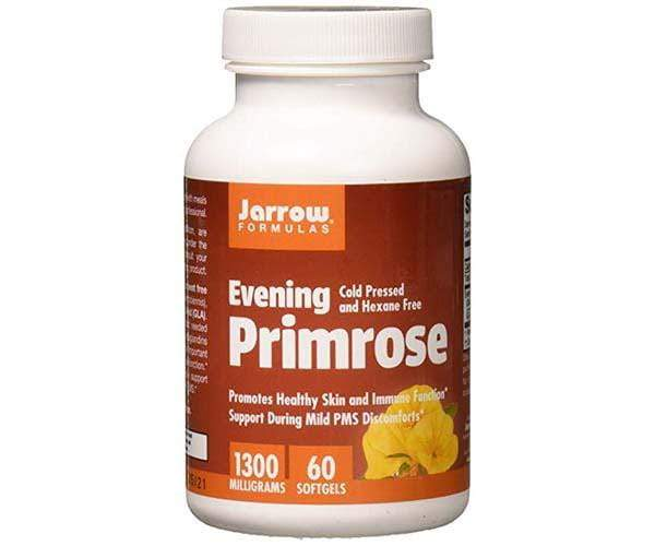 Jarrow Formulas Evening Primrose 1300mg 60 Softgels