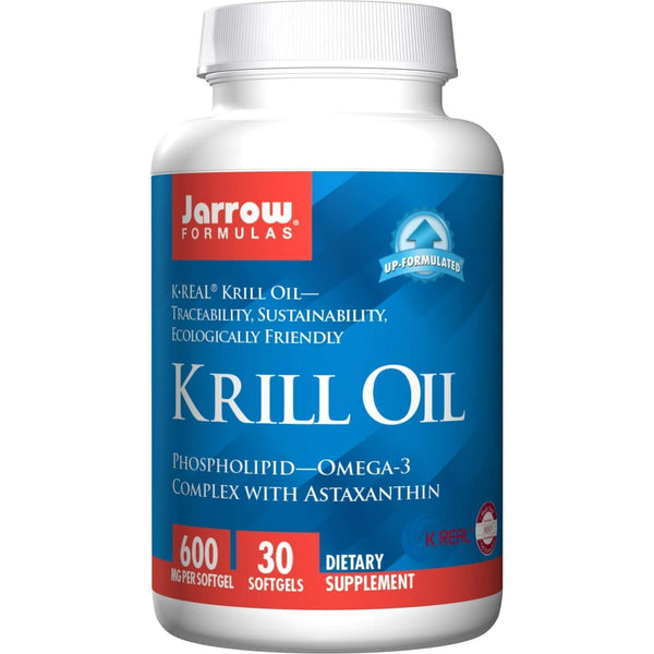 Jarrow Formulas K-Real Krill Oil 600mg 60 softgels