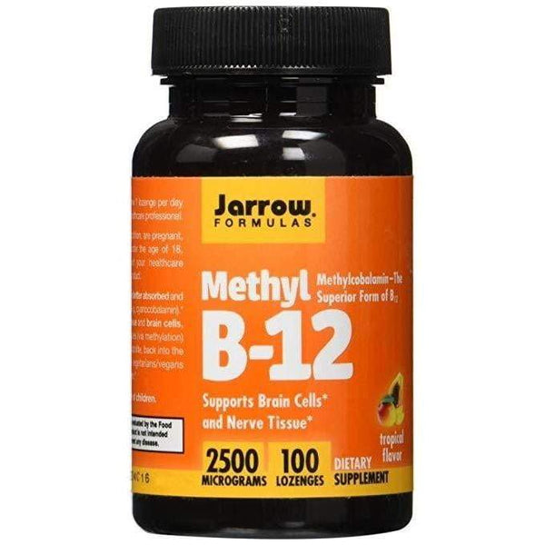 Jarrow Formulas Methyl B-12 2500mg 100 Lozenges