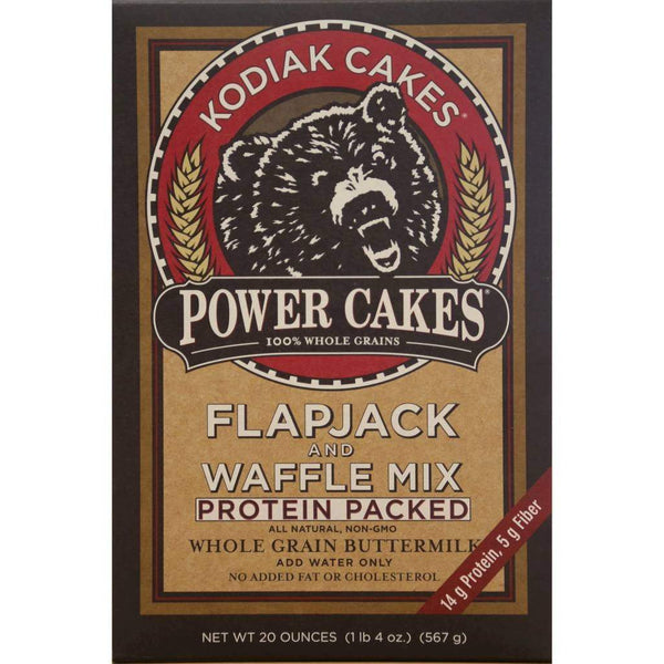 Kodiak Cakes Frontier Flapjack & Waffle Mix Whole Wheat Oat & Honey