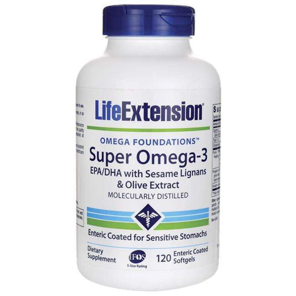 Life Extension Super Omega 3 120 Softgels