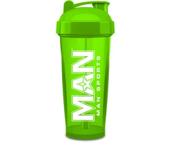 Man Sports Nutrition Protein Shaker