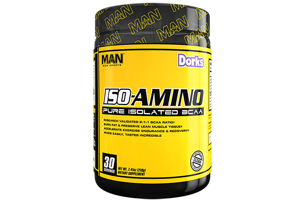 MAN Sports ISO-Amino Isolated BCAA 210g