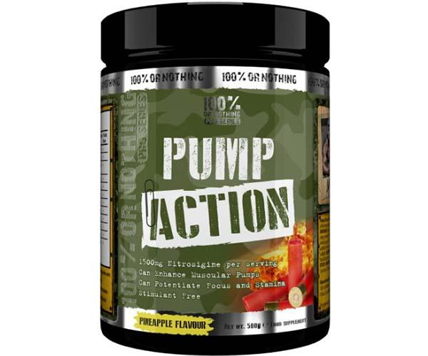 100% Or Nothing Pro Series (Formerly MaxxMuslce) Pump Action 500g