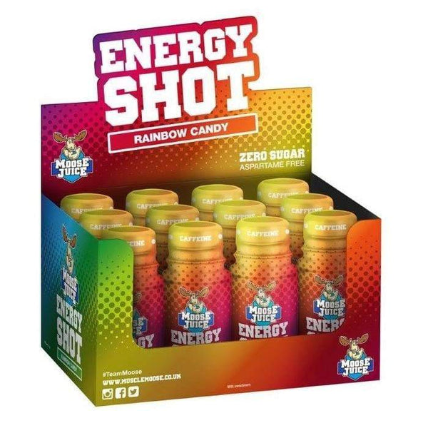 Muscle Moose Moose Juice Energy Shot Box
