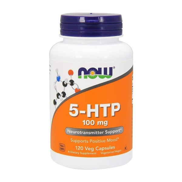 Now Foods 5-HTP 100mg 120 Veg Caps