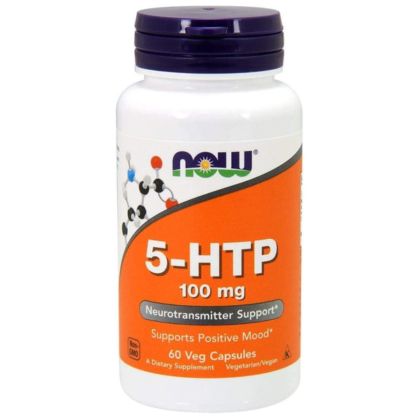 Now Foods 5-HTP 100mg 60 Veg Caps