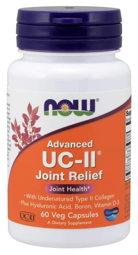 NOW Foods Advanced UC-II Joint Relief 60 Caps