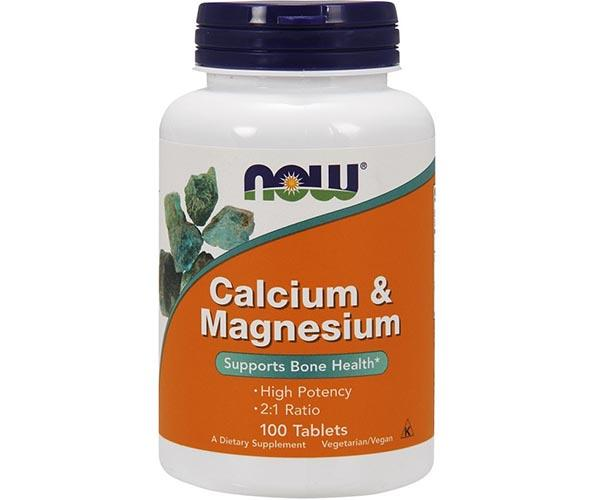 Now Foods Calcium & Magnesium 100 Tablets