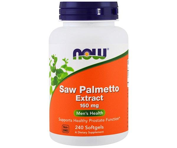 Now Foods Saw Palmetto Extract 240 Softgels
